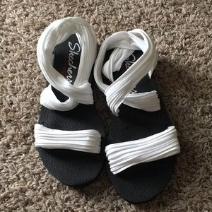 Shoes - Skechers yoga foam sandals